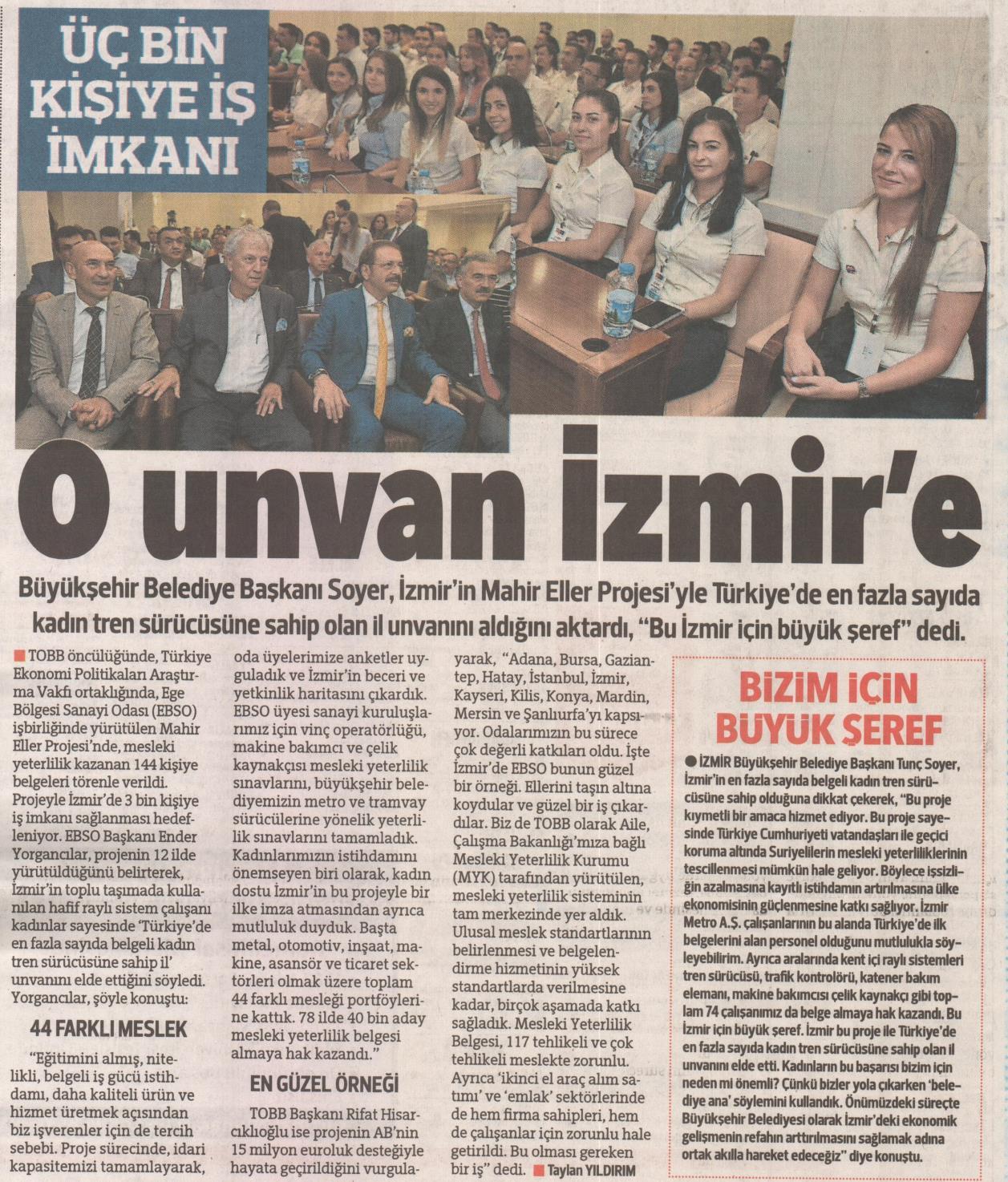 O Unvan İzmir