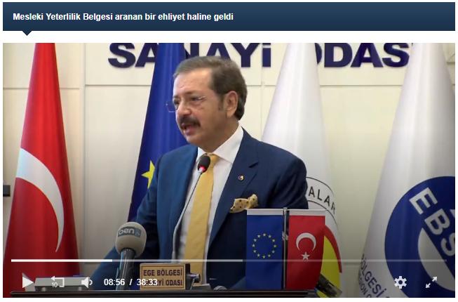 Mesleki Yeterlilik Belgesi Aranan Bir Ehliyet Haline Geldi   TOBB - www.tobb.org.tr