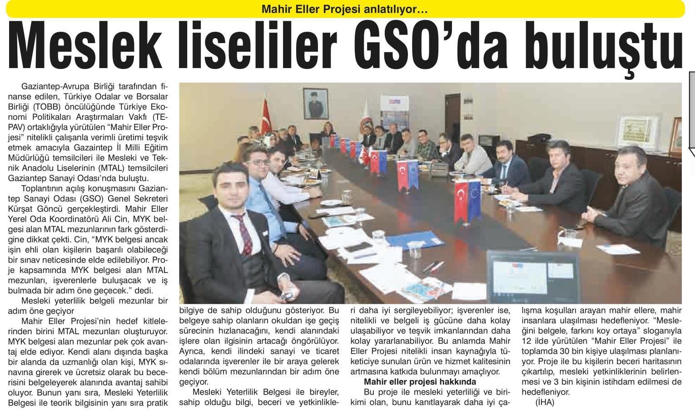 Meslek Liseliler GSO