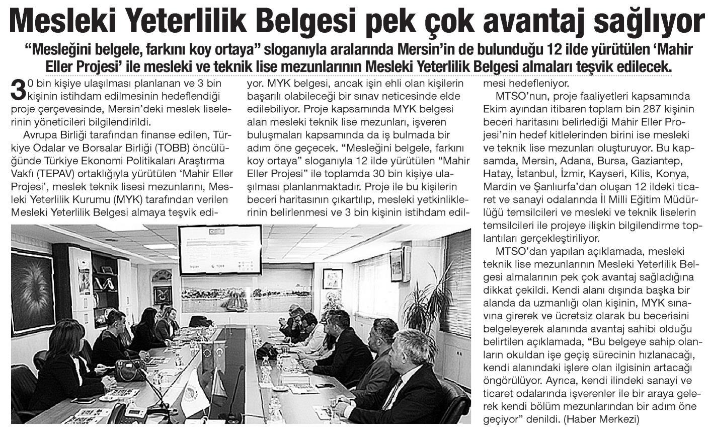 Mesleki Yerlilik Belgesi Pek Çok Avantaj Sağlıyor Yeni Adana