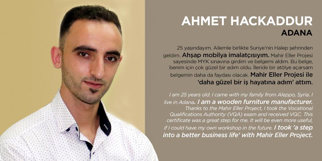 AHMET HACKADDUR